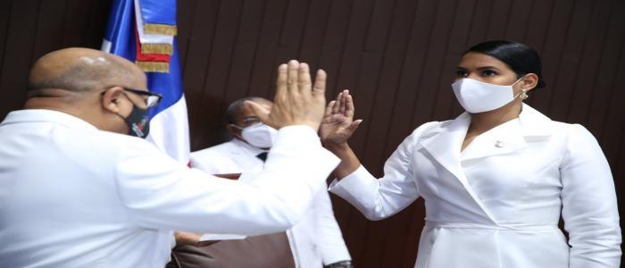 Pacheco es juramentado por segunda vez como presidente de la Cámara de Diputados